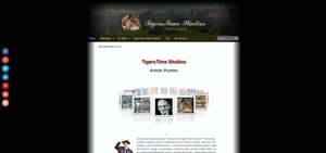 TigersTime Studios Website