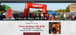 Cinco de Mayo 10k Website