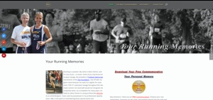 Your Running Memories Website